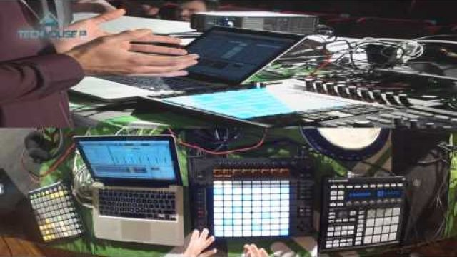 3. workshop techhouse.sk - predstavenie Ableton Push + live act