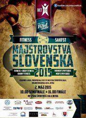 2015 Majstrovstvá Slovenska vo fitness a men´s physique