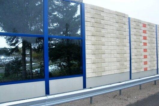 Diaľnica D1 - protihluková stena Liptovský Michal